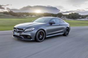 Mercedes-AMG C 63 S Coupe; Fahrvorstellung Malaga 2015; selenit