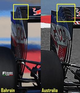 Toro Rosso - Ala posteriore