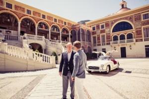 Nico Rosberg und Prinz Albert von Monaco