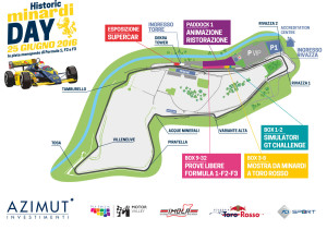 Historic Minardi Day - Imola, Map