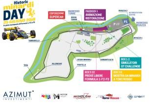 Historic Minardi Day - Imola, Map