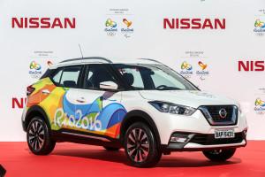 El Comité organizador Río 2016 recibe oficialmente de Nissan l