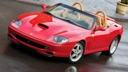 Ferrari 550 Barchetta cabrio