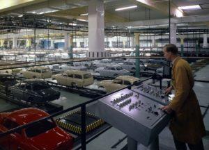 Volvo Amazon manufacturing