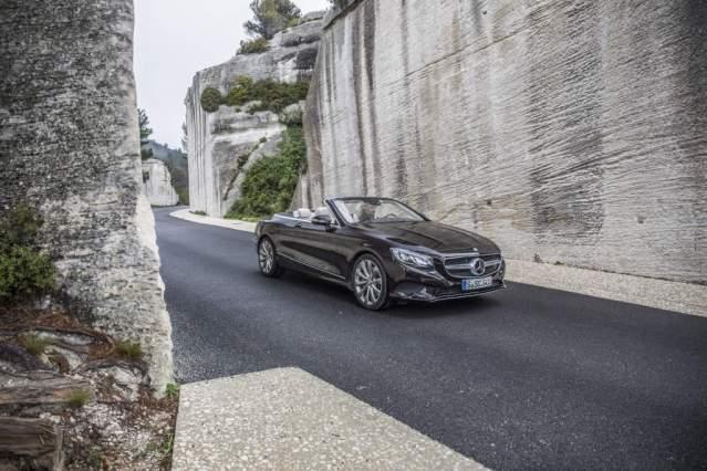 Das neue S-Class Cabriolet und der neue SLC, Côte d'Azur 2016,