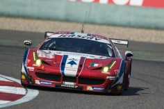 CAR #83 / AF CORSE / ITA / Ferrari F458 Italia - WEC 6 Hours of Shanghai - Shanghai International Circuit - Shanghai - China