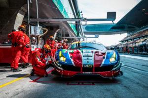 CAR #71 / AF CORSE / ITA / Ferrari 488 GTE - WEC 6 Hours of Shanghai - Shanghai International Circuit - Shanghai - China