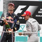 First Silver Arrows Podium – Malaysia 2010