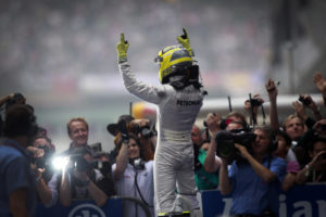 First Silver Arrows Win - China 2012