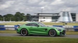 World Premiere Mercedes-AMG GT R (C190) Brooklands 2016
