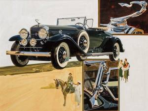 brafa17-berko-fine-paintings-t-hoyne-1930-cadillac-series452-av-16-roadster
