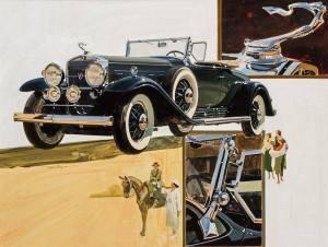 brafa17-berko-fine-paintings-t-hoyne-1930-cadillac-series452-av-16-roadster