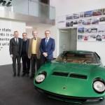 Comitato dei Saggi (from the left M. Reggiani, G. Dallara, M. Forghieri) with S. Domenicali(1)