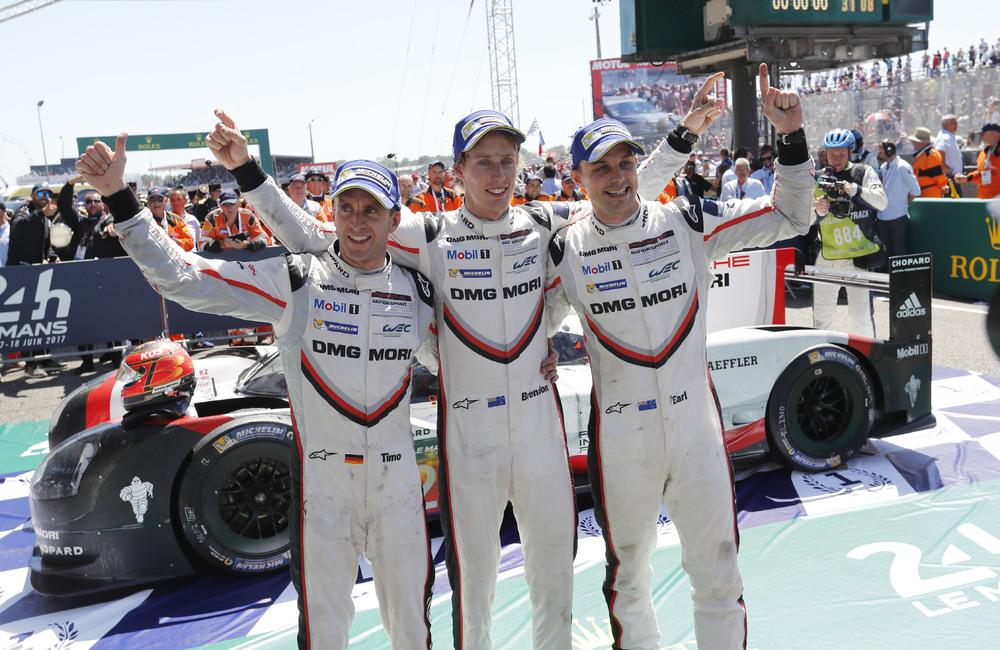 Hartley esalta i meccanici Porsche:
