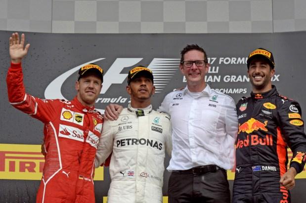 G.P. BELGIO F1/2017 podio