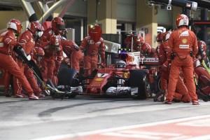 GP ABU DHABI F1/2017 kimi pit