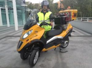 ALD ACI scooter