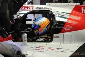 WEC Testing Alonso