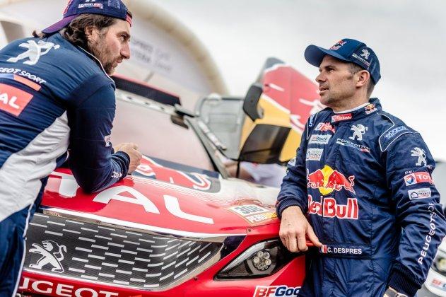 Team Peugeot Total_Dakar 2018_Shakedown_4.1.2018_+é-®PEUGEOT SPORT _ MCH Photography_17618 (Large)