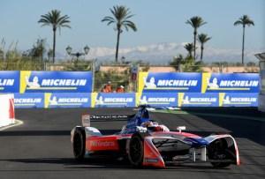 Formula E marocco mahindra