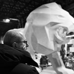 Lion PEUGEOT Making Of 004 – Photo Credit Mikael Pennec