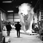 Lion PEUGEOT Making Of 005 – Photo Credit Mikael Pennec