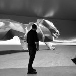 Lion PEUGEOT Making Of 017 – Photo Credit Mikael Pennec