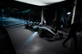 F1 W09 EQ Power+ Launch, Silverstone - Paul Ripke