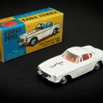 """The Saint"" Corgi Toys scale model, Volvo P1800"