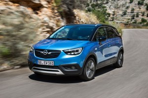 100,000 orders for the Opel Crossland X