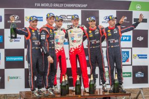 podio argentina WRC