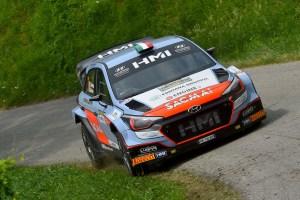 Corrado Fontana, Nicola Arena (Hyundai i20 WRC #3, Bluthunder)