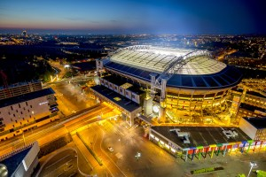 Europe's largest energy storage system is now live at the Johan Cruijff Arena