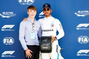 Pirelli Pole Position Award – 2018 British Grand Prix – 3