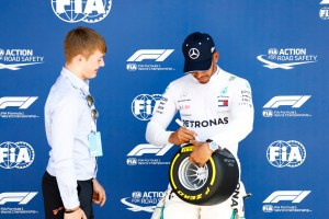 Pirelli Pole Position Award – 2018 British Grand Prix
