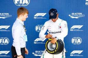 Pirelli Pole Position Award – 2018 British Grand Prix
