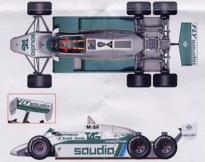 Williams-Ford FW08B