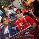 Museo Nicolis, F1 Sebastian Vettel, Geronimo La Russa e Silvia Nicolis