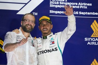 2018 Singapore Grand Prix, Sunday- Steve Etherington