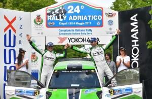 Cerimonia di Premiazione 24 Rally Adriatico