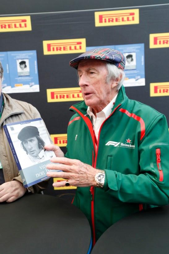 Sir Jackie Stewart autobiography - Presentation - 2