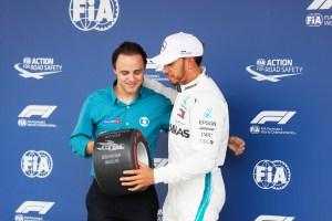Pirelli Pole Position Award – 2018 Brazilian Grand Prix (2)