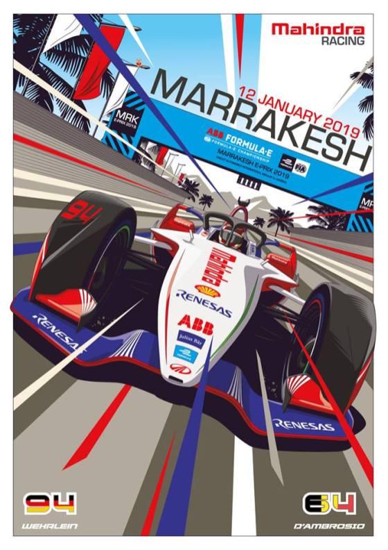 mahindra-e-prix-marocco-2019-poster