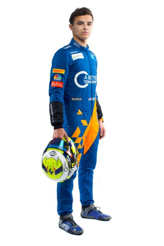 Lando Norris 2019 Driver Overalls