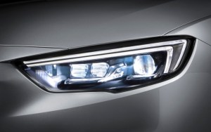 Opel Insignia with IntelliLux LED matrix light
