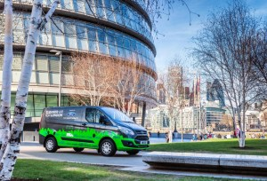 2 Ford Transit plug-in hybrid trial starts this Autumn