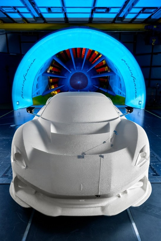 Battista wind tunnel testing - Front
