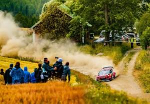 Citroe¦ên Racing Rally Finlandia Giorno 1 (2)