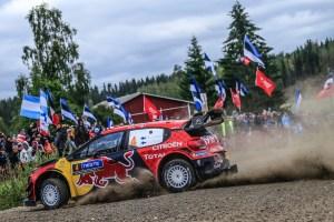 Citroe¦ên Racing Rally Finlandia Giorno 2 (4)