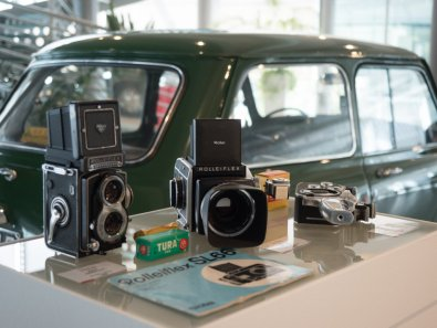 Museo Nicolis, Macchine fotografiche, ph. Ivano Mercanzin